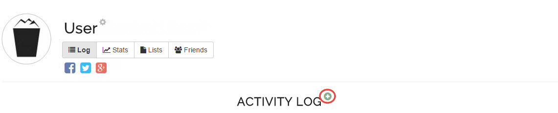 Activity add icon